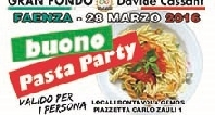 Il pasta party è GEMOS